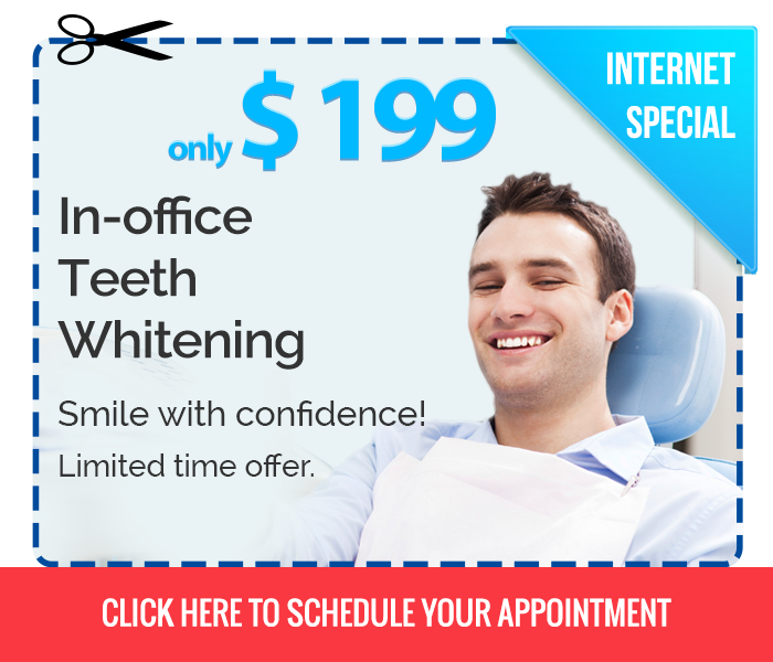 In Office Teeth Whitening Offer